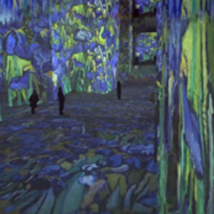 Exposition Van gogh / Carrières de Lumières