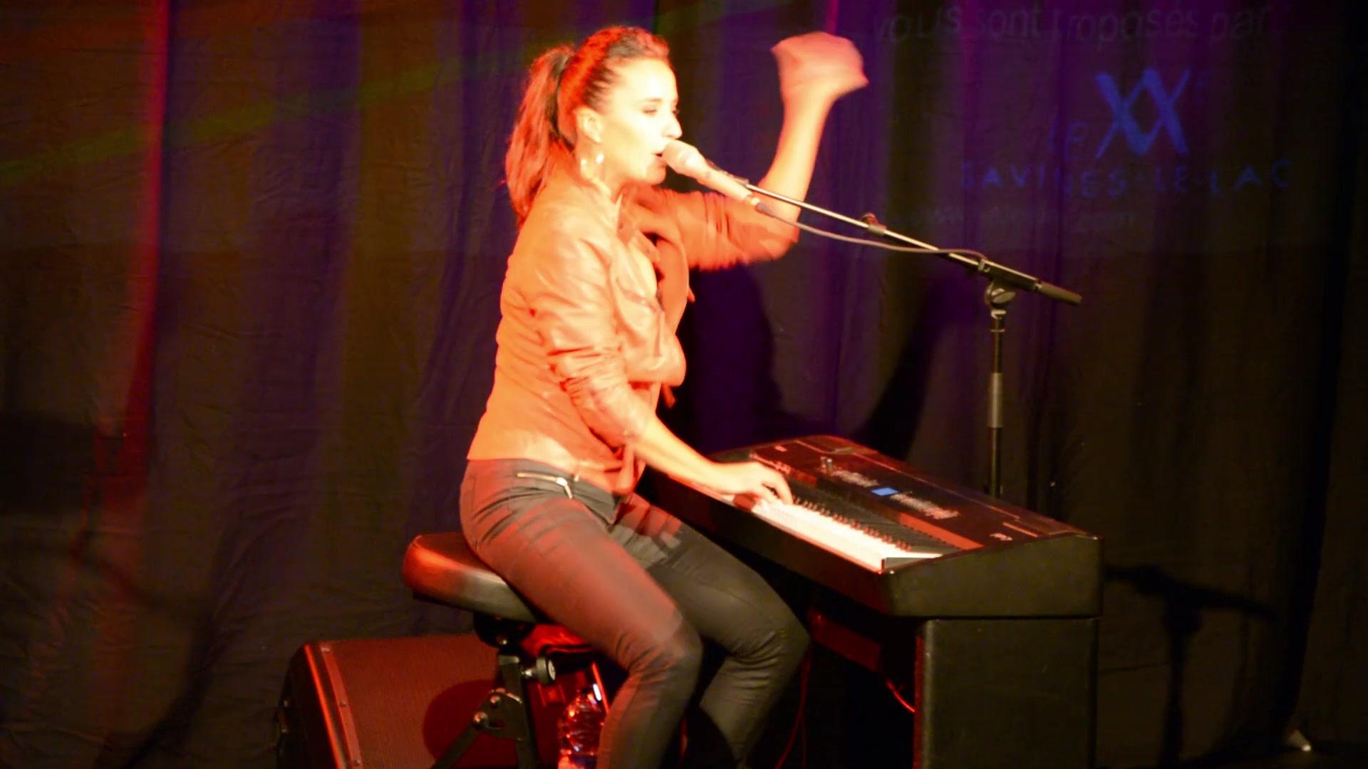 Jeanette Berger en concert avec He le'ale'a