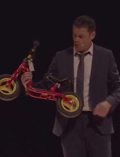 L'hisoire déjantée de la bicyclette