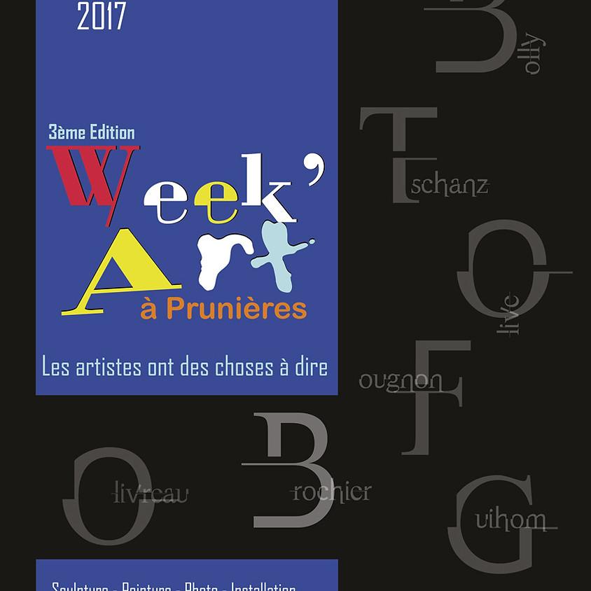 3ème édition de Week'Art