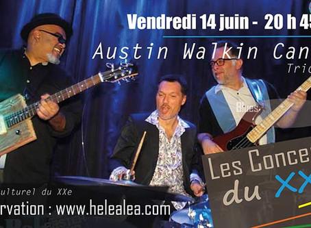 Austin Walkin Cane en Trio