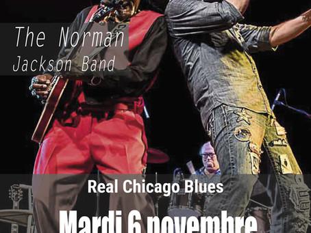 The Norman Jackson Band clôture la saison 2018 des Concerts du XXe