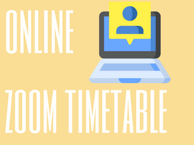 S1 - S6 Online Zoom Lecture Timetables 2020-2021