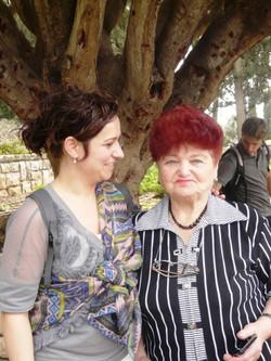 Shaila with Klara