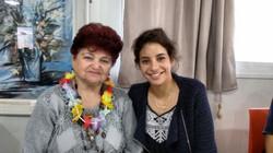 Klara with Shiraz