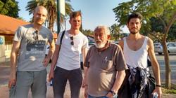 Dutch friends with Izik