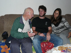 Israel with students of M.Baruch