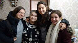 Lisa with Juli Shir and Shiraz in K.Shmona