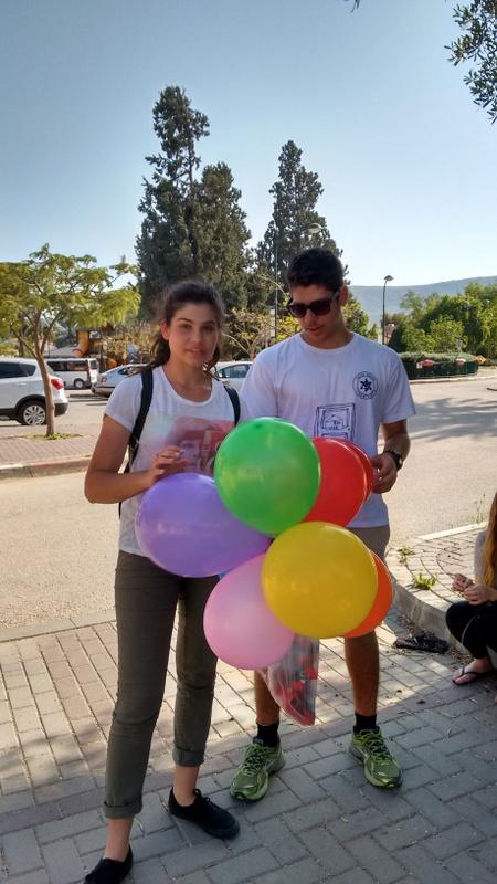 Students visiting Batya