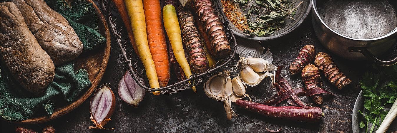Økologiske grøntsager