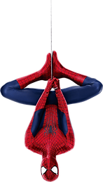 toppng.com-spiderman-hanging-upside-dow-