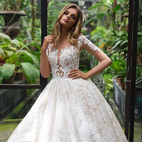 Vestido De Noiva Manga Longa Movida