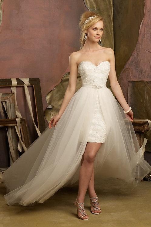 Vestido De Noiva 2 em 1 Fascínio