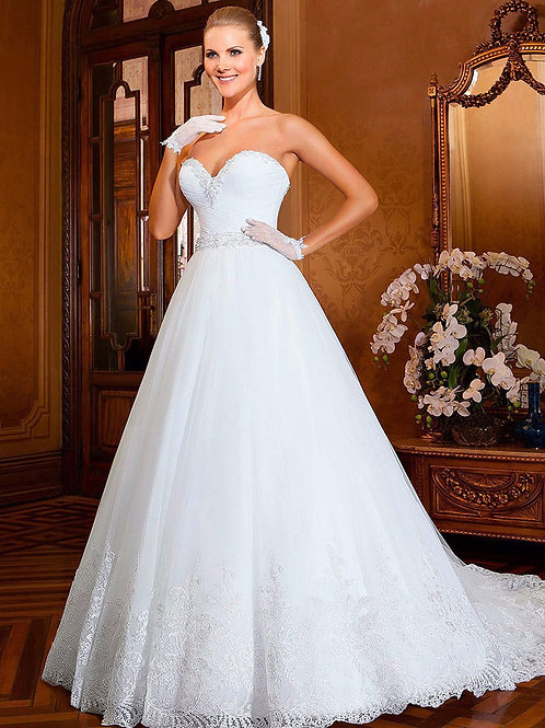 Vestido De Noiva 2 em 1 Tomara Que Caia Magia