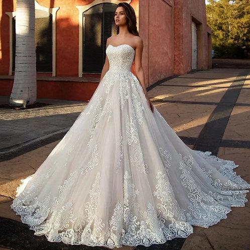 Vestido De Noiva Tomara Que Caia Adorável