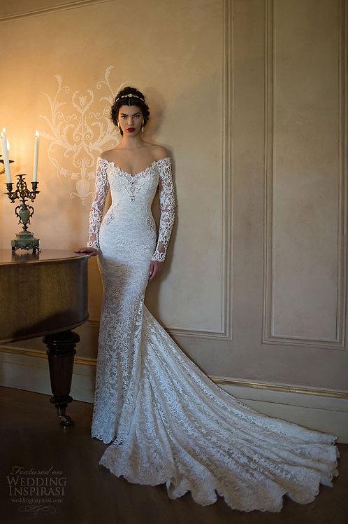 Vestido De Noiva Sereia Manga Longa Apego