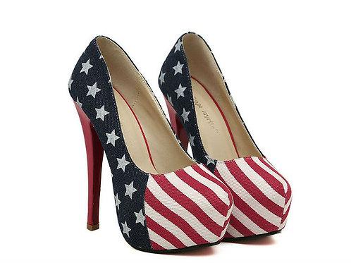 Sapato Plataforma EUA