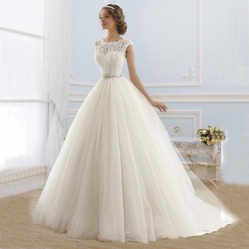 Vestido de Noiva Princesa Simpatia