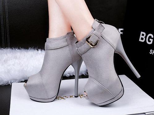 Sapato Peep Toe Total