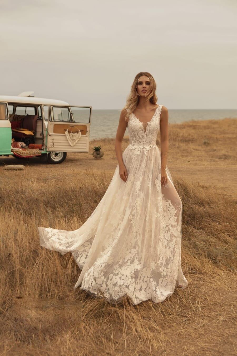 Vestido de noiva  para casamento country
