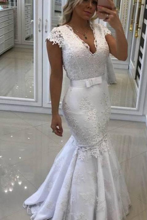 Vestido De Noiva 2 em 1 Sereia Diversidade