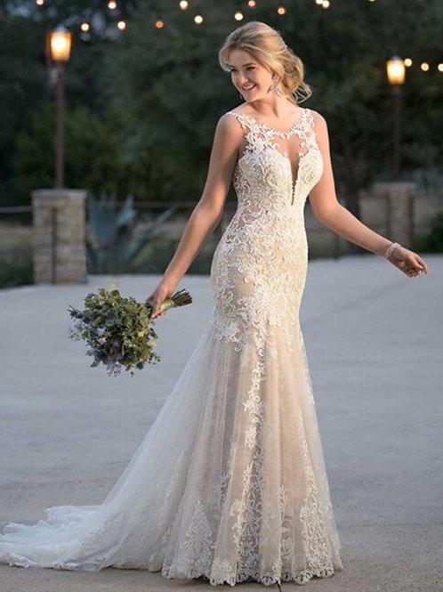 Vestido De Noiva Sereia Sentir