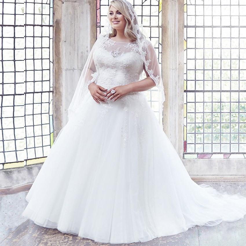 Vestido De Noiva Princesa Plus Size