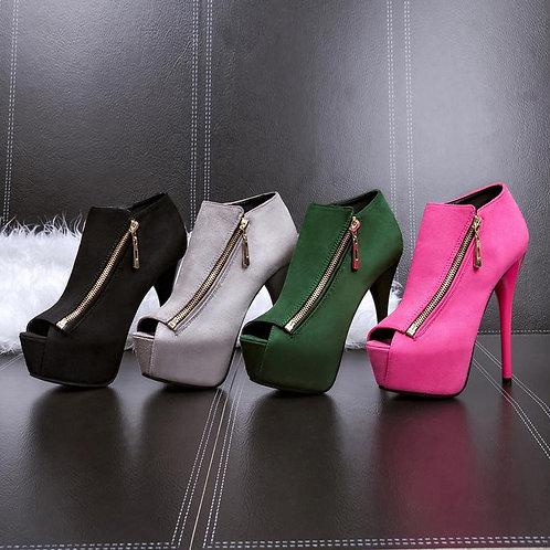 Sapato Peep Toe Sublime