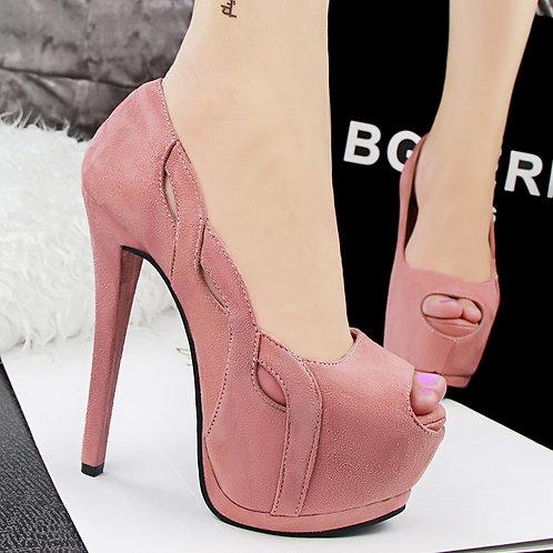 Sapato Peep Toe Supreendente