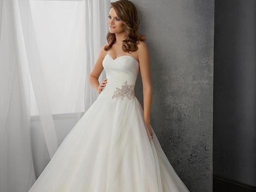 Vestido de noiva tomara que caia...