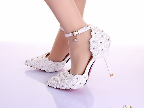 Sapato T-Strap Noiva Fidelidade