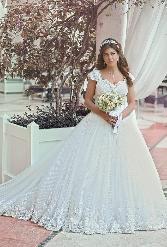 decote u vestido de noiva estilo princesa