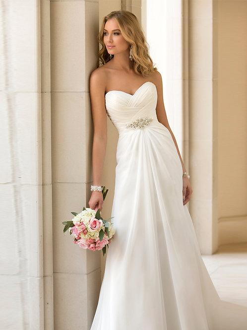 Vestido de Noiva Tomara que Caia Admiração