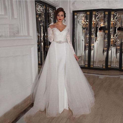 Vestido de Noiva 2 em 1 Grandiosa
