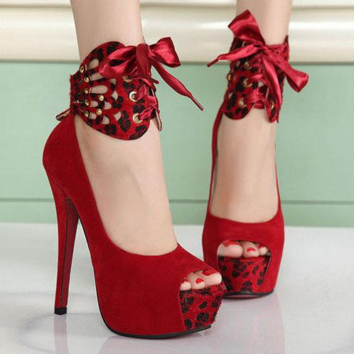 Sapato Peep Toe Sedutora