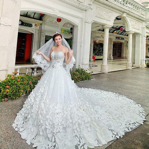 Vestido de Noiva Tomara Que Caia Fascinação