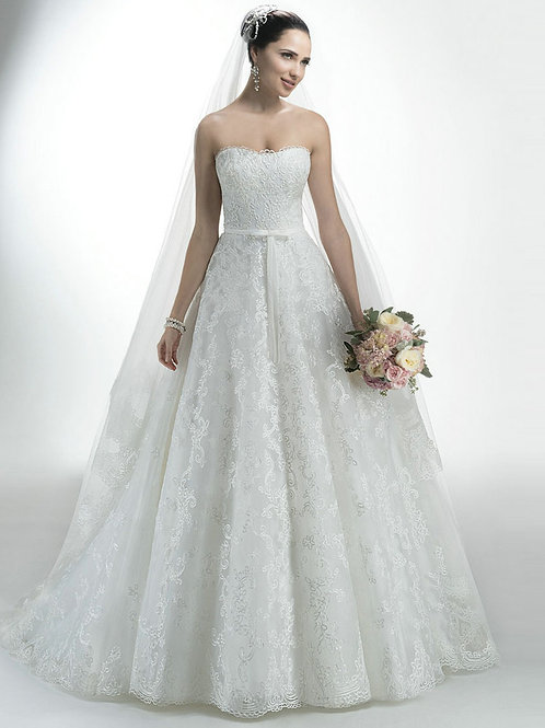 Vestido de Noiva Tomara Que Caia Dedicação