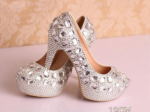 Sapato de Noiva Confiante