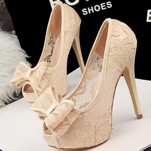Sapato Peep Toe Casamentos