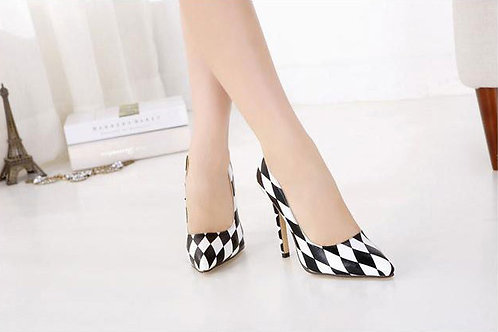 Sapato Scarpins Xeque-Mate