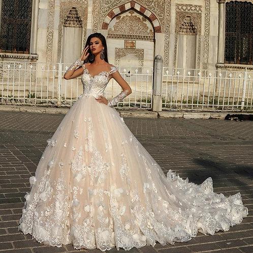 Vestido De Noiva Manga Longa Memória