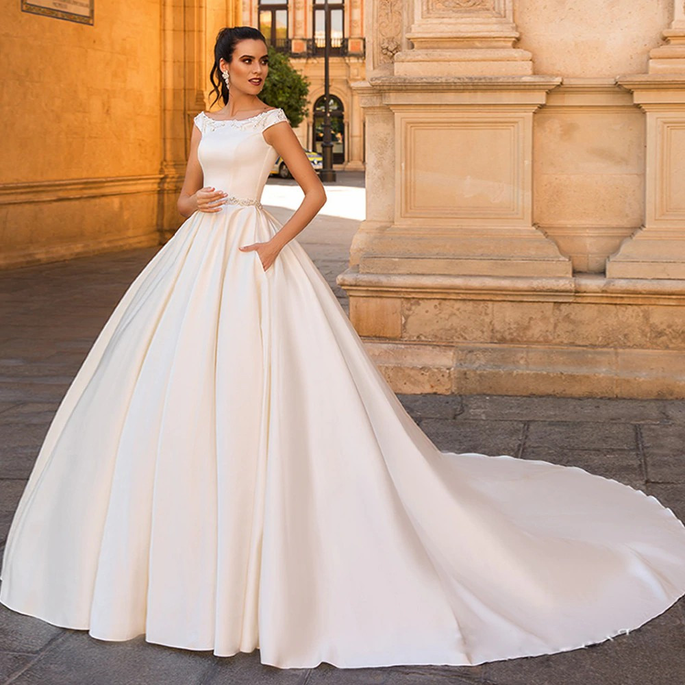 vestido de noiva princesa com volume
