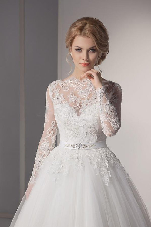 Vestido de Noiva Manga Longa Charm
