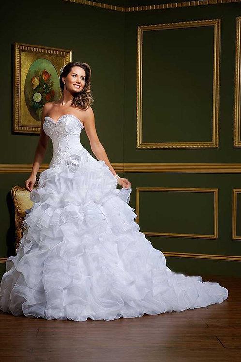 Vestido de Noiva 2 em 1 Extraordinária