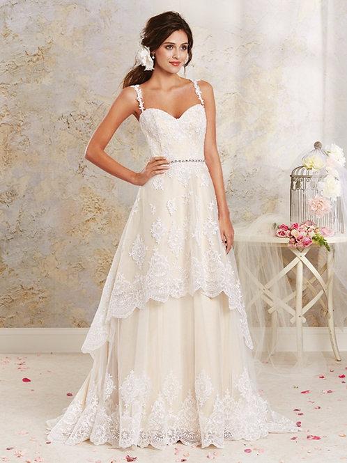 Vestido de Noiva 2 em 1 Poesia