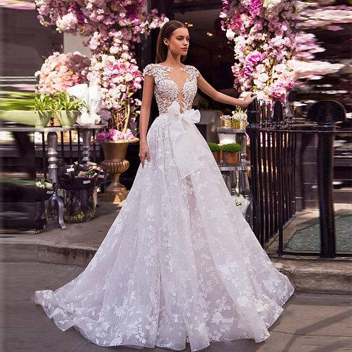 Vestido De Noiva Princesa Florescências