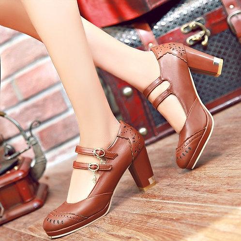 Sapato Mary Jane Triunfo