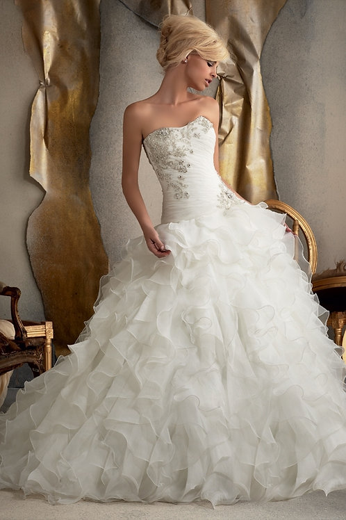 Vestido de Noiva Tomara Que Caia Bela