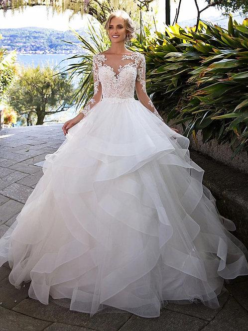 Vestido De Noiva Manga Longa Apaixonada