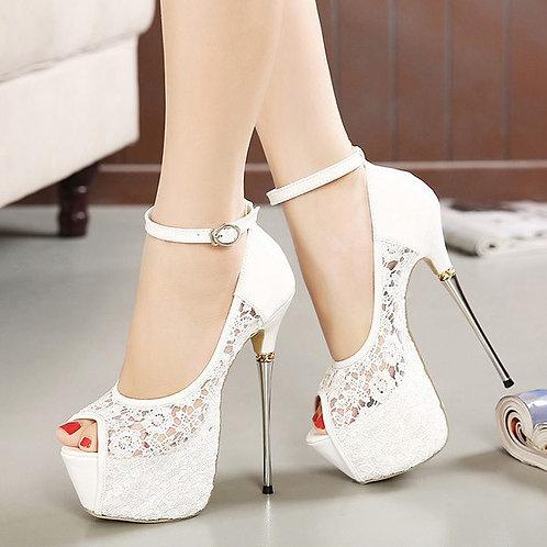 Sapato Peep Toe Maravilhosa